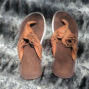 Robert wayne genuine leather sandals